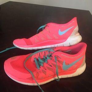 Nike Free Run 5.0 Hot Pink
